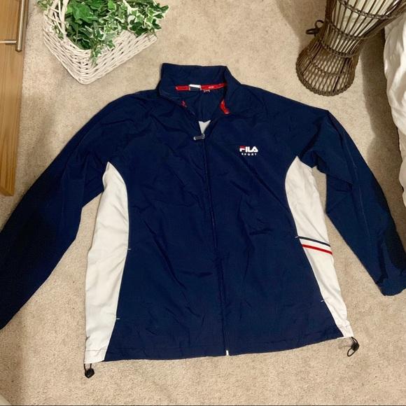 Fila Jackets & Blazers - Chunky Fila Wind Breaker Jacket